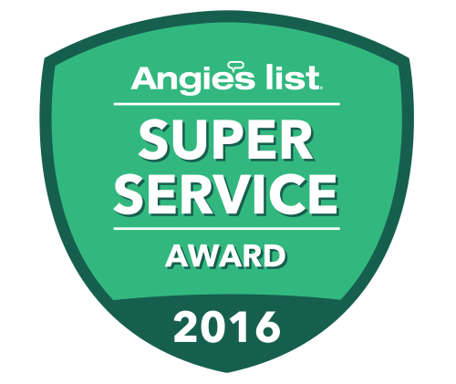Super Service Award 2016 Angie List